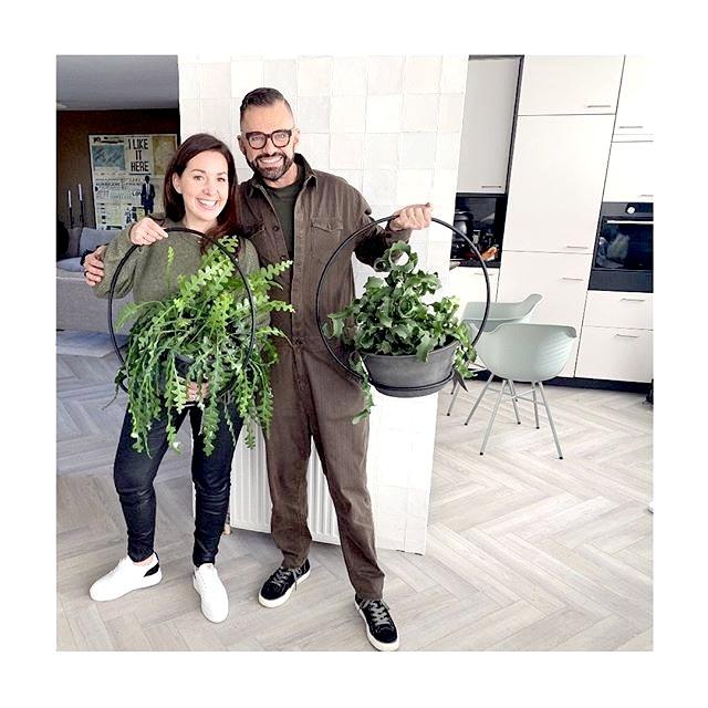 happy circle, plantenhanger, frans uyterlinde, vtwonen, blog interview, mevrouw monstera