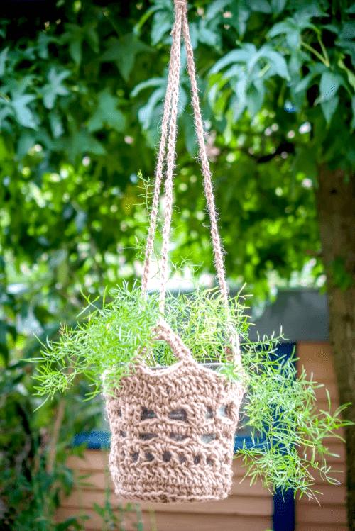 handgemaakte plantenhanger, plantenasiel. zaltbommel,